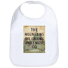 John Muir Mountains Bib
