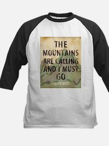John Muir Mountains Baseball Jersey