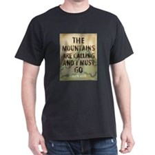 John Muir Mountains T-Shirt