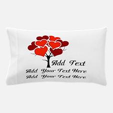 Custom add text Love tree Pillow Case