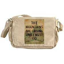 John Muir Mountains Messenger Bag