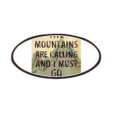 John Muir Mountains Patches