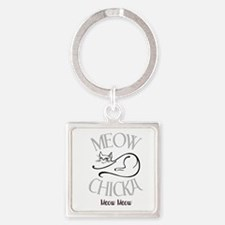 meow chicka meow meow Keychains
