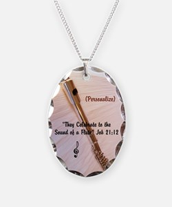 Personalizable Flute Sounds Necklace