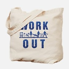 Work out Tote Bag
