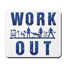 Work out Mousepad