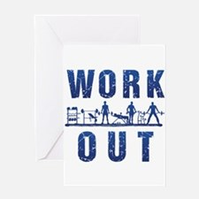 Work out Greeting Cards