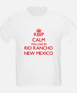 Keep calm you live in Rio Rancho New Mexic T-Shirt