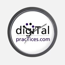 Digital Practices Wall Clock
