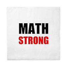 Math Strong Queen Duvet