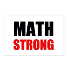 Math Strong Postcards (Package of 8)