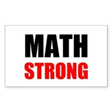 Math Strong Decal