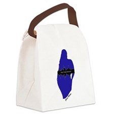 Cute Full figured Canvas Lunch Bag