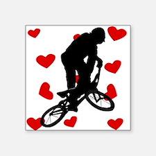 BMX Hearts Sticker