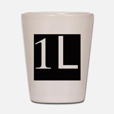 1L, first year law student Shot Glass