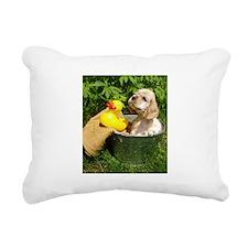 Cute Cocker Spaniel in B Rectangular Canvas Pillow