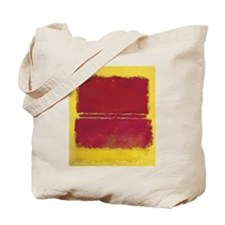 ROTHKO YELLOW BOX WITH RED Tote Bag