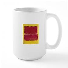 ROTHKO YELLOW BOX WITH RED Mugs