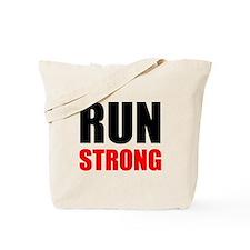 Run Strong Tote Bag