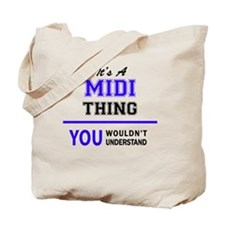 Funny Midi Tote Bag