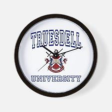 TRUESDELL University Wall Clock