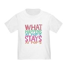 What Happens At Pop's T-Shirt