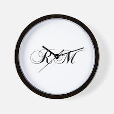 RM-cho black Wall Clock