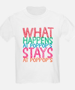 What Happens Poppop's T-Shirt