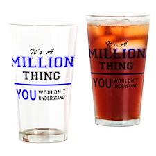 Cute Million Drinking Glass