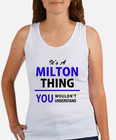 Cute Milton Women's Tank Top