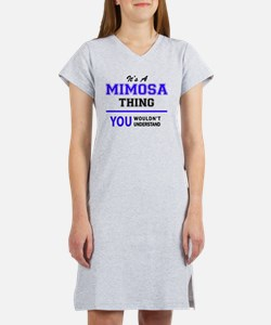 Cute Mimosa Women's Nightshirt