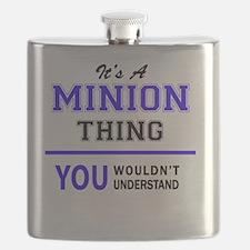 Cute Minions Flask