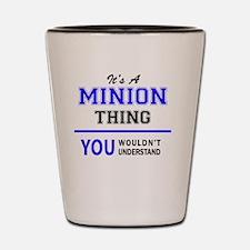Cute Minion Shot Glass