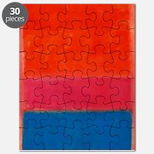ROTHKO ORANGE BLUE 4 Puzzle