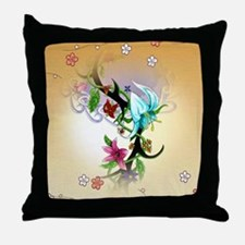 Tribal Garden Throw Pillow