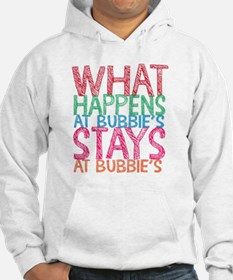 What Happens at Bubbie's Hoodie