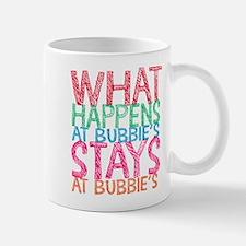 What Happens at Bubbie's Mugs
