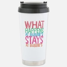 What Happens at Bubbie' Stainless Steel Travel Mug