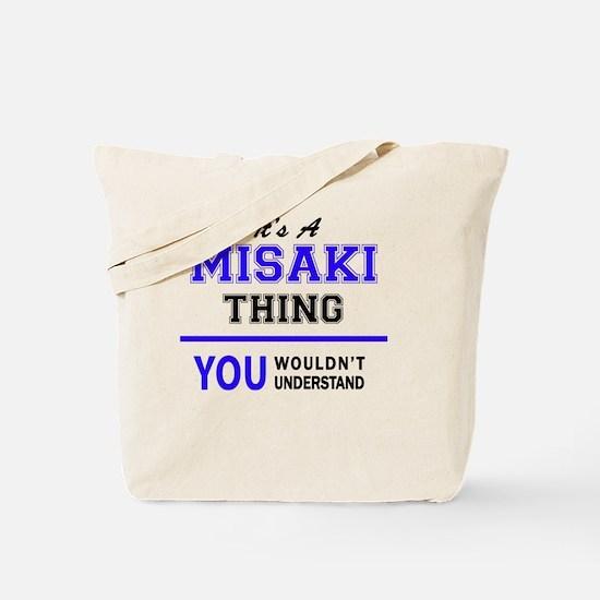 Funny Misaki Tote Bag