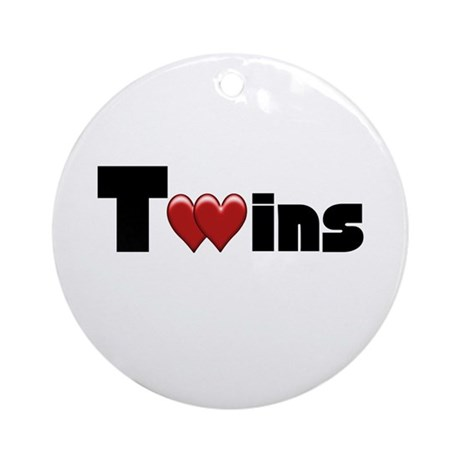 The Twins Ornament (Round)