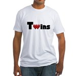 The Twins Fitted T-Shirt