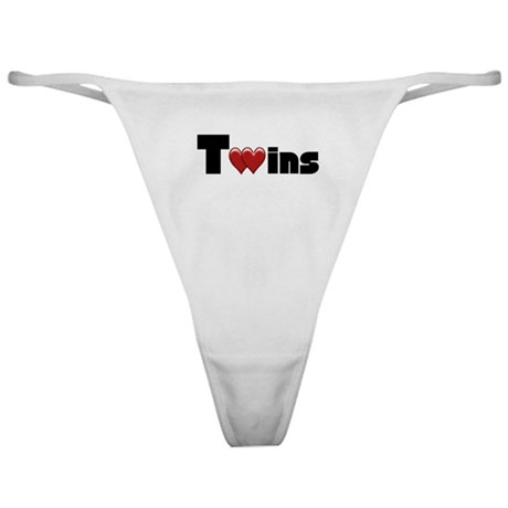 The Twins Classic Thong