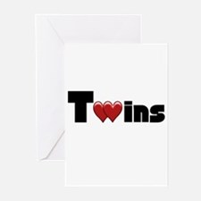 The Twins Greeting Cards (Pk of 10)