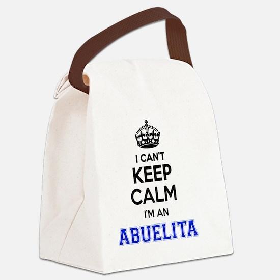 Cute Abuelita Canvas Lunch Bag