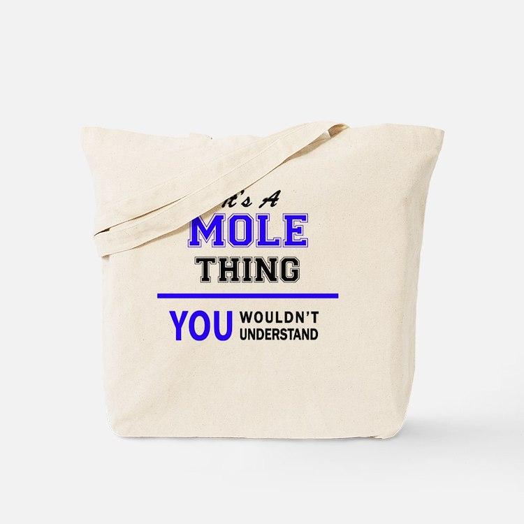 Cute Mole Tote Bag