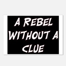 REBEL WITHOUT A CLUE Postcards (Package of 8)