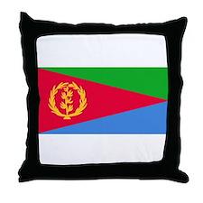 Eritrea Flag Throw Pillow
