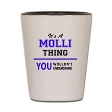 Unique Mollie Shot Glass