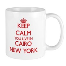 Keep calm you live in Cairo New York Mugs