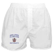 STRAYER University Boxer Shorts
